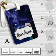Princess Elsa Disney Frozen Custom Leather Luggage Tag