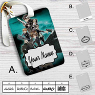 Psycho-Pass Custom Leather Luggage Tag