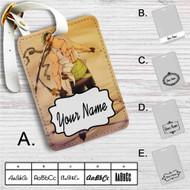 Roronoa Zoro One Piece Custom Leather Luggage Tag