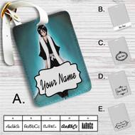 Rukia Kuchiki Bleach Custom Leather Luggage Tag
