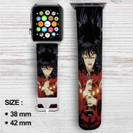 Inuyasha Custom Apple Watch Band Leather Strap Wrist Band Replacement 38mm 42mm