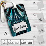 Tron Uprising Custom Leather Luggage Tag
