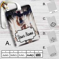 YuGiOh Duel Monsters Custom Leather Luggage Tag