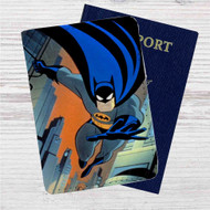 Batman The Animated Series Custom Leather Passport Wallet Case Cover