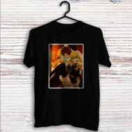 Fairy Tail Natsu Dragneel and Lucy Heartfilia Custom T Shirt Tank Top Men and Woman