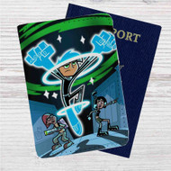 Danny Phantom Custom Leather Passport Wallet Case Cover