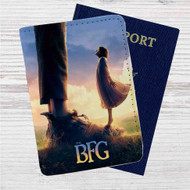 Disney The BFG Custom Leather Passport Wallet Case Cover