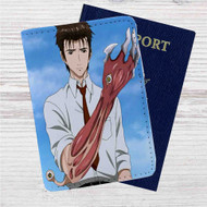 Parasyte Custom Leather Passport Wallet Case Cover