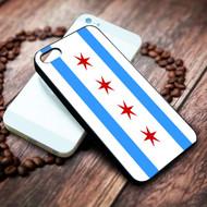 Chicago Flag on your case iphone 4 4s 5 5s 5c 6 6plus 7 case / cases