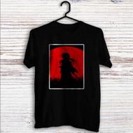 Red Moon Samurai X Rurouni Kenshin Custom T Shirt Tank Top Men and Woman