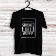 Straight Otter Zootopia Custom T Shirt Tank Top Men and Woman