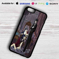 Black Butler iPhone 4/4S 5 S/C/SE 6/6S Plus 7| Samsung Galaxy S4 S5 S6 S7 NOTE 3 4 5| LG G2 G3 G4| MOTOROLA MOTO X X2 NEXUS 6| SONY Z3 Z4 MINI| HTC ONE X M7 M8 M9 M8 MINI CASE