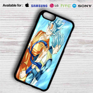 Dragon Ball Super Goku and Vegeta Super Saiyan Blue iPhone 4/4S 5 S/C/SE 6/6S Plus 7| Samsung Galaxy S4 S5 S6 S7 NOTE 3 4 5| LG G2 G3 G4| MOTOROLA MOTO X X2 NEXUS 6| SONY Z3 Z4 MINI| HTC ONE X M7 M8 M9 M8 MINI CASE