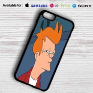 Fry Futurama iPhone 4/4S 5 S/C/SE 6/6S Plus 7  Samsung Galaxy S4 S5 S6 S7 NOTE 3 4 5  LG G2 G3 G4  MOTOROLA MOTO X X2 NEXUS 6  SONY Z3 Z4 MINI  HTC ONE X M7 M8 M9 M8 MINI CASE