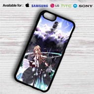 Kirito and Asuna Sword Art Online 1 iPhone 4/4S 5 S/C/SE 6/6S Plus 7| Samsung Galaxy S4 S5 S6 S7 NOTE 3 4 5| LG G2 G3 G4| MOTOROLA MOTO X X2 NEXUS 6| SONY Z3 Z4 MINI| HTC ONE X M7 M8 M9 M8 MINI CASE