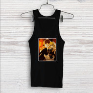 Fairy Tail Natsu Dragneel and Lucy Heartfilia Custom Men Woman Tank Top T Shirt Shirt