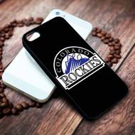 Colorado Rockies  2 on your case iphone 4 4s 5 5s 5c 6 6plus 7 case / cases