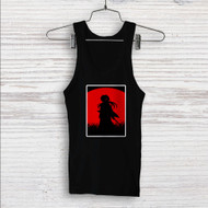 Red Moon Samurai X Rurouni Kenshin Custom Men Woman Tank Top T Shirt Shirt
