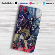 Akame ga Kill Custom Leather Wallet iPhone 4/4S 5S/C 6/6S Plus 7| Samsung Galaxy S4 S5 S6 S7 Note 3 4 5| LG G2 G3 G4| Motorola Moto X X2 Nexus 6| Sony Z3 Z4 Mini| HTC ONE X M7 M8 M9 Case