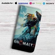 Anomaly 2 Custom Leather Wallet iPhone 4/4S 5S/C 6/6S Plus 7| Samsung Galaxy S4 S5 S6 S7 Note 3 4 5| LG G2 G3 G4| Motorola Moto X X2 Nexus 6| Sony Z3 Z4 Mini| HTC ONE X M7 M8 M9 Case