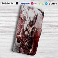 Assassin's Creed Unity Custom Leather Wallet iPhone 4/4S 5S/C 6/6S Plus 7| Samsung Galaxy S4 S5 S6 S7 Note 3 4 5| LG G2 G3 G4| Motorola Moto X X2 Nexus 6| Sony Z3 Z4 Mini| HTC ONE X M7 M8 M9 Case