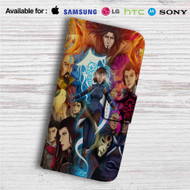 Avatar The Legend of Korra Custom Leather Wallet iPhone 4/4S 5S/C 6/6S Plus 7| Samsung Galaxy S4 S5 S6 S7 Note 3 4 5| LG G2 G3 G4| Motorola Moto X X2 Nexus 6| Sony Z3 Z4 Mini| HTC ONE X M7 M8 M9 Case