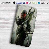 Crysis 3 Custom Leather Wallet iPhone 4/4S 5S/C 6/6S Plus 7| Samsung Galaxy S4 S5 S6 S7 Note 3 4 5| LG G2 G3 G4| Motorola Moto X X2 Nexus 6| Sony Z3 Z4 Mini| HTC ONE X M7 M8 M9 Case