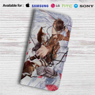 Ereb Jaeger Attack on Titan Custom Leather Wallet iPhone 4/4S 5S/C 6/6S Plus 7| Samsung Galaxy S4 S5 S6 S7 Note 3 4 5| LG G2 G3 G4| Motorola Moto X X2 Nexus 6| Sony Z3 Z4 Mini| HTC ONE X M7 M8 M9 Case