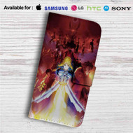 Fate Zero Custom Leather Wallet iPhone 4/4S 5S/C 6/6S Plus 7| Samsung Galaxy S4 S5 S6 S7 Note 3 4 5| LG G2 G3 G4| Motorola Moto X X2 Nexus 6| Sony Z3 Z4 Mini| HTC ONE X M7 M8 M9 Case