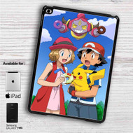 "Pokemon Ash Pikachu iPad 2 3 4 iPad Mini 1 2 3 4 iPad Air 1 2 | Samsung Galaxy Tab 10.1"" Tab 2 7"" Tab 3 7"" Tab 3 8"" Tab 4 7"" Case"