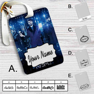 Daniel Radcliffe Now You See Me 2 Custom Leather Luggage Tag