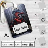 Harley Quinn Custom Leather Luggage Tag