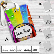 Inside Out Custom Leather Luggage Tag