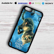 Alice Through the Looking Glass The Cat Cheshire iPhone 4/4S 5 S/C/SE 6/6S Plus 7| Samsung Galaxy S4 S5 S6 S7 NOTE 3 4 5| LG G2 G3 G4| MOTOROLA MOTO X X2 NEXUS 6| SONY Z3 Z4 MINI| HTC ONE X M7 M8 M9 M8 MINI CASE