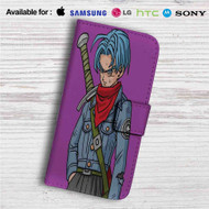 Trunks Dragon Ball Super Custom Leather Wallet iPhone 4/4S 5S/C 6/6S Plus 7| Samsung Galaxy S4 S5 S6 S7 Note 3 4 5| LG G2 G3 G4| Motorola Moto X X2 Nexus 6| Sony Z3 Z4 Mini| HTC ONE X M7 M8 M9 Case