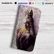 Alice Through the Looking Glass Alice Custom Leather Wallet iPhone 4/4S 5S/C 6/6S Plus 7| Samsung Galaxy S4 S5 S6 S7 Note 3 4 5| LG G2 G3 G4| Motorola Moto X X2 Nexus 6| Sony Z3 Z4 Mini| HTC ONE X M7 M8 M9 Case