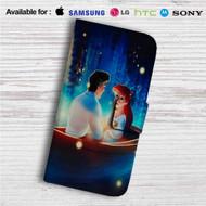 Ariel and Eric Disney Custom Leather Wallet iPhone 4/4S 5S/C 6/6S Plus 7| Samsung Galaxy S4 S5 S6 S7 Note 3 4 5| LG G2 G3 G4| Motorola Moto X X2 Nexus 6| Sony Z3 Z4 Mini| HTC ONE X M7 M8 M9 Case