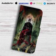 Batman The Flash Custom Leather Wallet iPhone 4/4S 5S/C 6/6S Plus 7| Samsung Galaxy S4 S5 S6 S7 Note 3 4 5| LG G2 G3 G4| Motorola Moto X X2 Nexus 6| Sony Z3 Z4 Mini| HTC ONE X M7 M8 M9 Case