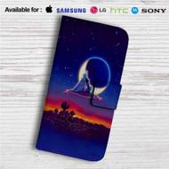 Classic Aladdin and Jasmine Custom Leather Wallet iPhone 4/4S 5S/C 6/6S Plus 7  Samsung Galaxy S4 S5 S6 S7 Note 3 4 5  LG G2 G3 G4  Motorola Moto X X2 Nexus 6  Sony Z3 Z4 Mini  HTC ONE X M7 M8 M9 Case