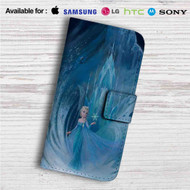 Elsa Frozen Custom Leather Wallet iPhone 4/4S 5S/C 6/6S Plus 7| Samsung Galaxy S4 S5 S6 S7 Note 3 4 5| LG G2 G3 G4| Motorola Moto X X2 Nexus 6| Sony Z3 Z4 Mini| HTC ONE X M7 M8 M9 Case
