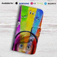 Inside Out Custom Leather Wallet iPhone 4/4S 5S/C 6/6S Plus 7| Samsung Galaxy S4 S5 S6 S7 Note 3 4 5| LG G2 G3 G4| Motorola Moto X X2 Nexus 6| Sony Z3 Z4 Mini| HTC ONE X M7 M8 M9 Case