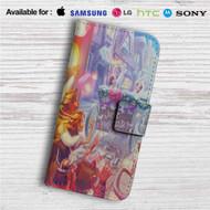 Just Merried Rapunzel and Flynn Custom Leather Wallet iPhone 4/4S 5S/C 6/6S Plus 7| Samsung Galaxy S4 S5 S6 S7 Note 3 4 5| LG G2 G3 G4| Motorola Moto X X2 Nexus 6| Sony Z3 Z4 Mini| HTC ONE X M7 M8 M9 Case