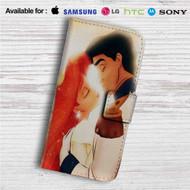 Kiss Ariel and Eric Custom Leather Wallet iPhone 4/4S 5S/C 6/6S Plus 7| Samsung Galaxy S4 S5 S6 S7 Note 3 4 5| LG G2 G3 G4| Motorola Moto X X2 Nexus 6| Sony Z3 Z4 Mini| HTC ONE X M7 M8 M9 Case