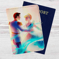 Aurora and Phillip Disney Custom Leather Passport Wallet Case Cover