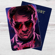 Daredevil Series Custom Leather Passport Wallet Case Cover