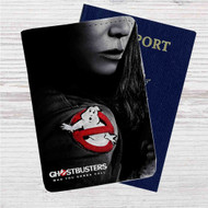 Ghostbusters Custom Leather Passport Wallet Case Cover