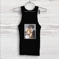 Asuna x Kirito Sword Art Online Custom Men Woman Tank Top T Shirt Shirt