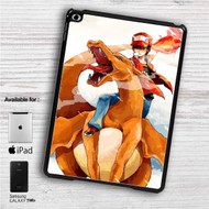"Charmander & Ash Pokemon iPad 2 3 4 iPad Mini 1 2 3 4 iPad Air 1 2 | Samsung Galaxy Tab 10.1"" Tab 2 7"" Tab 3 7"" Tab 3 8"" Tab 4 7"" Case"
