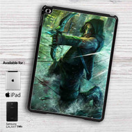 "Green Arrow iPad 2 3 4 iPad Mini 1 2 3 4 iPad Air 1 2 | Samsung Galaxy Tab 10.1"" Tab 2 7"" Tab 3 7"" Tab 3 8"" Tab 4 7"" Case"