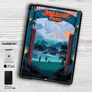 """Jurassic Park Classic iPad 2 3 4 iPad Mini 1 2 3 4 iPad Air 1 2   Samsung Galaxy Tab 10.1"""" Tab 2 7"""" Tab 3 7"""" Tab 3 8"""" Tab 4 7"""" Case"""
